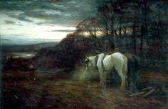 At Close of Day by Joseph Farquharson (Scottish 1846-1935)