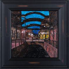 $100 by Ken Blaze oil on canvas