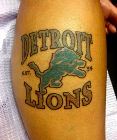 Detroit lions tattoo detroit d if i ever get a tattoo this for Detroit d tattoo