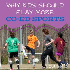 The reasons and benefits behind why kids should play more co-ed sports: https://www.youthletic.com/articles/why-kids-need-to-play-more-co-ed-youth-sports/?utm_source=pinterest&utm_medium=referral&utm_campaign=organic
