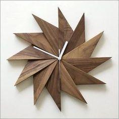 hakusan | Rakuten Global Market: Wall watch clock Walnut natural ... #WoodworkingClocks