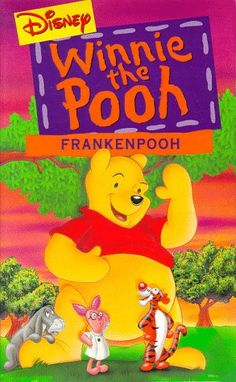 Winnie the Pooh  Frankenpooh VHS ** Amazon most trusted e-retailer #BestSellingChildrenMovies
