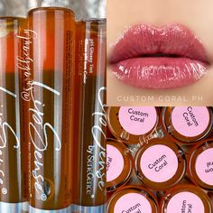 Senegence Makeup, Best Makeup Products, Coral, Lipstick, Ph, Lip Sense, Independent Distributor, Collages, Collage