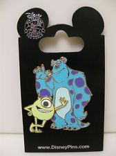 WDW DISNEY TRADING PIN - MONSTERS INC UNIVERSITY - Mike & Sulley - NEW