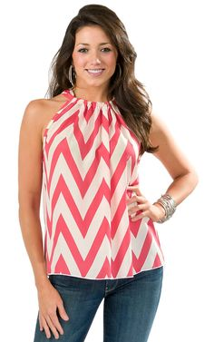 coral chevron shirt I want one like this!!!