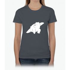 Ice Bear Believes In You Tee - We Bare Bears T- Shirts Womens T-Shirt