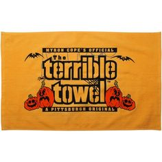 Pittsburgh Steelers NFL MYRON COPE'S Halloween Terrible Towel Steelers Terrible Towel, Steelers Gifts, Nfl Gear, Vintage Fashion Photography, Pittsburgh Steelers, Fitness, Sports, Crowd, Wave