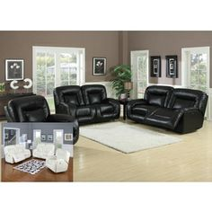@Overstock.com - Bruno Double Reclining Power Sofa - Turn your living space into a luxurious home theater or a place to kick back with friends with this leather double reclining power sofa. Available in white or black bonded leather, this sofa gives everyone the best seat in the house.  http://www.overstock.com/Home-Garden/Bruno-Double-Reclining-Power-Sofa/6008528/product.html?CID=214117 $807.29
