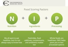 EWG Food Scores | The New Tool That Helps Score Your Food rebootwithjoe.com