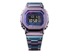 All Personal Feeds Purple Accents, Square Faces, Casio G Shock, Casio Watch, Stainless Steel Case, Dusk, Watch Bands, Twilight, Blue Grey