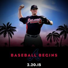 It's almost time for Braves baseball!