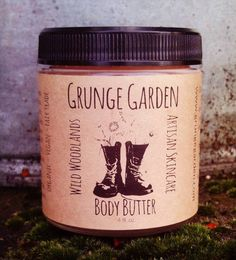 Shimmering Wild Woodlands Body Butter by GrungeGardens on Etsy