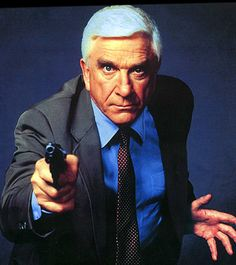 Frank Drebin (basically Leslie Nielsen in anything) Great Films, Good Movies, 80s Movies, Leslie Nielsen, Celebrity Deaths, Star Wars, Iconic Characters, Fantasy Characters, Famous Faces