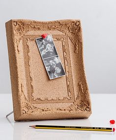 Another great find on #zulily! Ornate Frame Cork Board #zulilyfinds