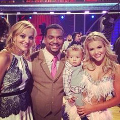 Witney Carson with Alfonso & his Family
