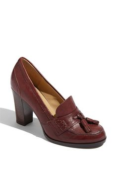 Like the Frye Pumps...but about 200 cheaper. There are also tassels! $89