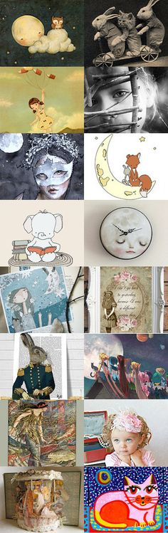 Goodnight Moon by Linda Voth on Etsy--Pinned with TreasuryPin.com