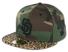 Exclusive San Diego Padres Savage Fitted Cap by New Era @ BILLION CREATION