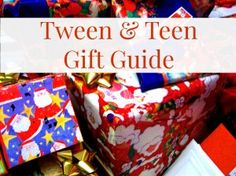 Wondering what to get your older kids for Christmas? Check out our teen and tween gift guide for some fun ideas. Tween Gifts, Gifts For Teens, Adolescence, Rustic Christmas, Some Fun, Inspire Me, Gift Guide, Valentines Day, Birthdays