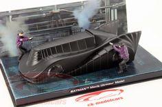 Hersteller: Ixo Maßstab: 1:43 Fahrzeug: Batmobile Armour Mode Serie: Film Batman 1989 Baujahr: 1989 Artikelnummer: BAT1989armour Farbe: schwarz