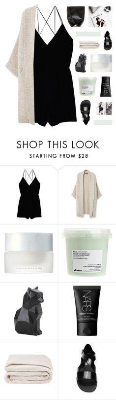 """""""//s l e e v e l e s s j u m p s u i t//"""" by lion-smile ❤ liked on Polyvore featuring Wilfred, Violeta by Mango, SUQQU, Davines, Hot Topic, NARS Cosmetics, Frette, Givenchy, 3.1 Phillip Lim and sleevelessjumpsuits"""
