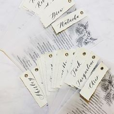 Handwritten Calligraphy | Babooche Calligraphy Calligraphy Wedding Place Cards, Calligraphy Save The Dates, Foil Wedding Invitations, Modern Calligraphy, Diy Wedding Menu, Wedding Paper, Wedding Favours, Wedding Cards, Save The Date Cards