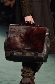 Etro Bag – Autumn / Winter 2016 handbags - Salvatore Ferragamo of 2019 Trends Handbags For Men, Leather Handbags, Men's Backpacks, Winter Looks, Fall Winter, Work Bags, Burberry Handbags, Leather Accessories, Hurley