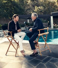 Robert De Niro and McCaul Lombardi in Ermenegildo Zegna campaign Master guiding the new? Its a commentary on life & style. Watch @Zegna's video with #RobertDeNiro & @McCaulLombardi! http://www.luxuryfacts.com/index.php/sections/article/Robert-De-Niro-is-the-face-of-Ermenegildo-Zegnas-D