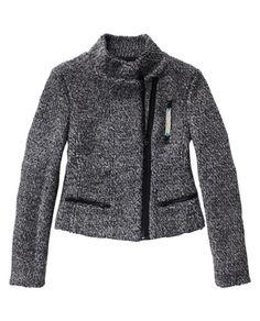 Boucle wool short jacket   Scotch & Soda