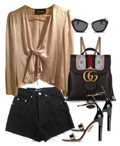 """""""Untitled #3689"""" by camilae97 ❤ liked on Polyvore featuring Gucci, Francesco Russo and Miu Miu"""