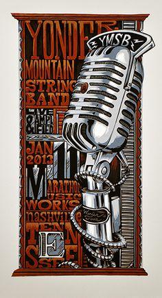Yonder Mountain String Band - Nashville 2013 - by AJ Masthay