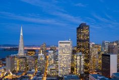 San Francisco Downtown Night