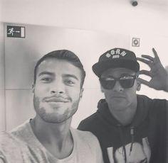 Rafinha and Neymar