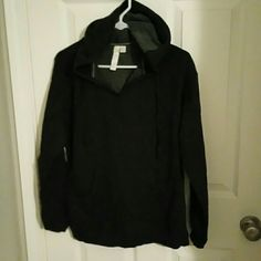 Super comfortable hoodie Womens size M super comfortable hoodie. Hoodie is charcoal grey. Excellent condition! I bundle with a discount Green tea Tops Sweatshirts & Hoodies