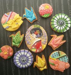 Happy New Year cookies♡