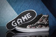 Vans X Nintendo Sk8-Hi Reissue Classic Red White Sidestripe Mens Shoes #Vans