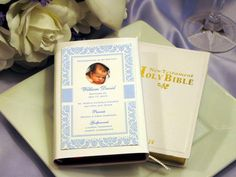 Baptism Christening Gifts Photo Party Remembrance Bible Favors