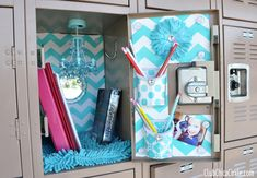 LockerLookz decorated tween locker ideas