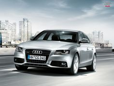 The Audi is a compact executive car produced since late 1994 by the German car manufacturer Audi, a subsidiary of the Volkswagen Group. Compact Executive, Vw Group, Volkswagen Group, Car Manufacturers, Audi A4, Bmw, Vehicles, German, Products