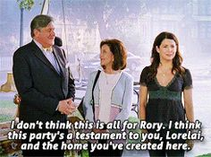 "When Richard gave Lorelai the approval she had always wanted. | 25 ""Gilmore Girls"" Moments That'll Still Leave You Emotionally Wrecked"