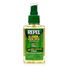 Buy Repel Plant Based Lemon Eucalyptus Insect Repellent - Works better than 7% DEET solutions - Cutter lemon eucalyptus insect repellent