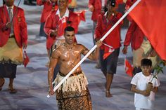 Rio 2016: 9 motivos para amar o atleta de Tonga que desfilou besuntado