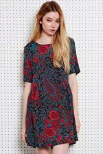 Staring at Stars Floral Paisley Dress at Urban Outfitters