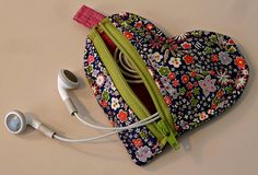 Liberty Love Earbud Pouch by alidiza, via Flickr