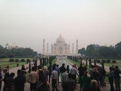 Simply beautiful. Taj Mahal, the love tomb in Agra