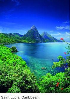 Saint Lucia. A perfect destination for a honeymoon