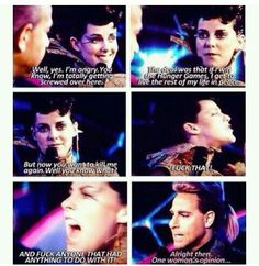 Fell in love woth Johanna when she said this. It's just how I pictured it from the books love it.