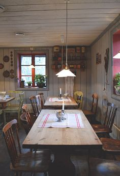 Tant Brun coffee house in Strängnäs, the oldest town in Sweden. A 45 min drive from Stockholm.