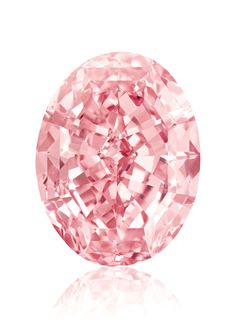 Diamond, called Pink Star Diamond (formerly called the Steinmetz Pink), carats (graded Internally Flawless), Southern Africa. The largest Fancy Vivid Pink diamond known. Sold for USD in Nov 2013 Diamond Gemstone, Diamond Jewelry, Gemstone Jewelry, Glass Jewelry, Gold Jewellery, Jewlery, Cristal Rose, Pink Stars, Rocks And Gems