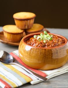 Pumpkin Chili (Vegetarian, Gluten-Free Option)